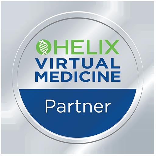 HELIX Virtual Medicine Partner Silver Badge